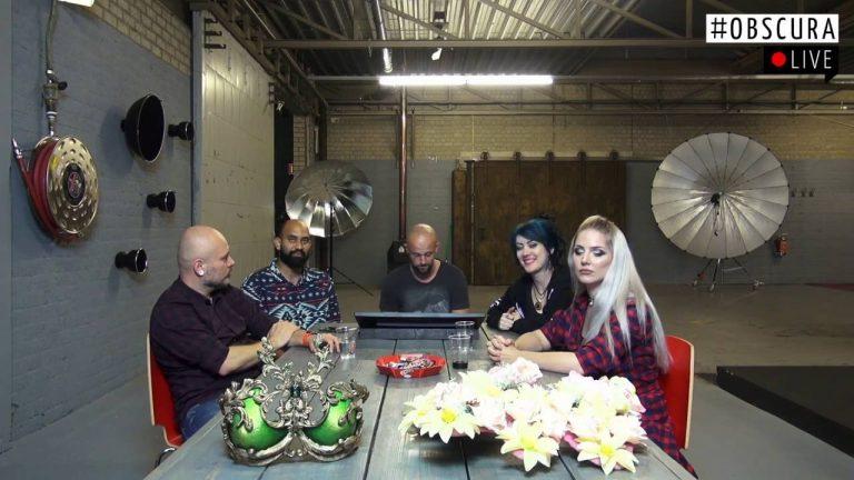 Renee Robyn, Roderique Arisiaman, Jolien Rosanne en Richard Terborg in Studio34x | obscuraLIVE 035